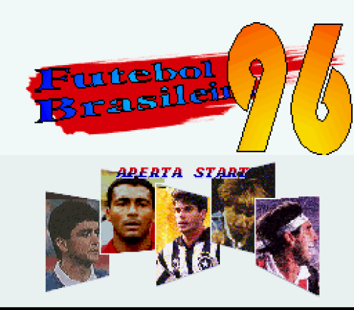 Bebeto, Romário, Túlio, Paulo Nunes e Renato Gaúcho na grandiosa abertura